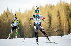 Yurie Tanaka (JPN) competes during Women 7,5 km Sprint at day 2 of IBU Biathlon World Cup 2015/16 Pokljuka, on December 18, 2015 in Rudno polje, Pokljuka, Slovenia. Photo by Vid Ponikvar / Sportida