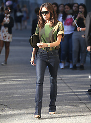 Victoria Beckham seen out and about in New York City. 19 Jun 2018 Pictured: Victoria Beckham. Photo credit: MEGA TheMegaAgency.com +1 888 505 6342