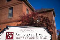 Westcott Law Laconia.  ©2016 Karen Bobotas Photographer