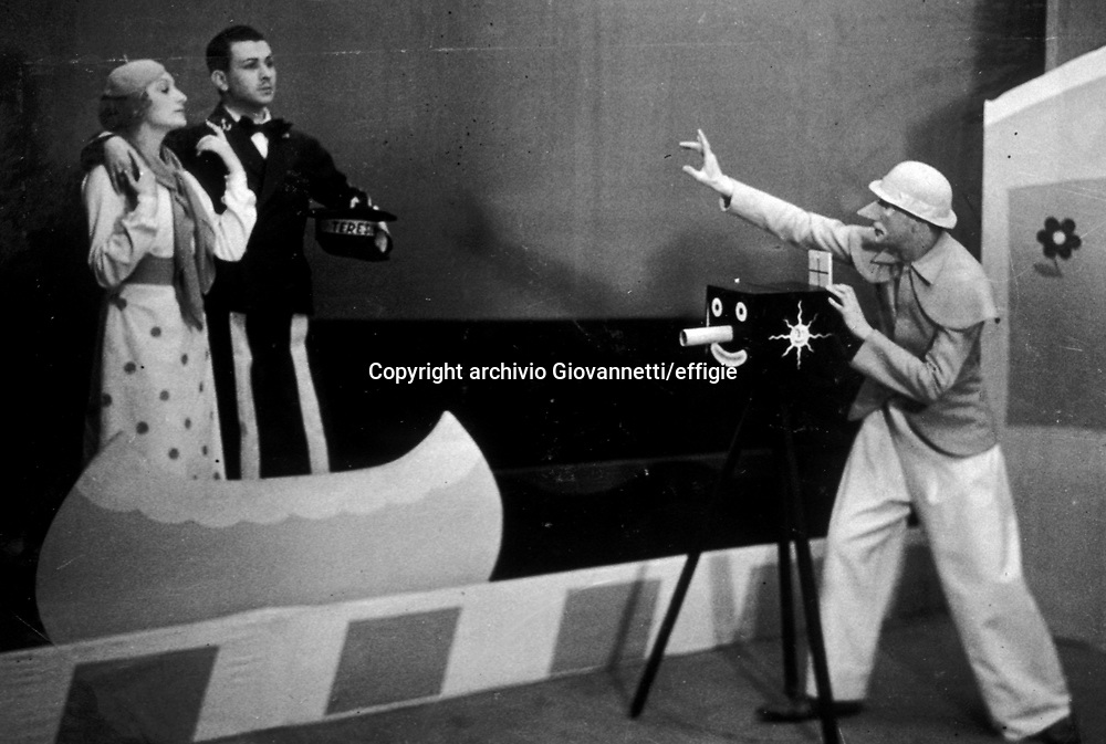Sergio Tofano<br />1937<br />archivio Giovannetti/effigie