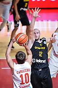 DESCRIZIONE : Varese FIBA Eurocup 2015-16 Openjobmetis Varese Telenet Ostevia Ostende<br /> GIOCATORE : Daniele Cavaliero<br /> CATEGORIA : Tiro Tre Punti <br /> SQUADRA : Composizione<br /> EVENTO : FIBA Eurocup 2015-16<br /> GARA : Openjobmetis Varese - Telenet Ostevia Ostende<br /> DATA : 28/10/2015<br /> SPORT : Pallacanestro<br /> AUTORE : Agenzia Ciamillo-Castoria/M.Ozbot<br /> Galleria : FIBA Eurocup 2015-16 <br /> Fotonotizia: Varese FIBA Eurocup 2015-16 Openjobmetis Varese - Telenet Ostevia Ostende