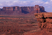 Red rock hills from John Ford's Point, Navajo Tribal Park, Arizona.©1996 Edward McCain. All rights reserved. McCain Photography, McCain Creative, Inc..