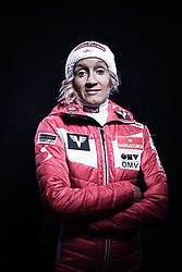 12.10.2019, Olympiahalle, Innsbruck, AUT, FIS Weltcup Ski Alpin, im Bild Daniela Iraschko Stolz // during Outfitting of the Ski Austria Winter Collection and the official Austrian Ski Federation 2019/ 2020 Portrait Session at the Olympiahalle in Innsbruck, Austria on 2019/10/12. EXPA Pictures © 2020, PhotoCredit: EXPA/ JFK