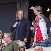 NLD/Amsterdam/20180408 - Ajax - Heracles, makelaar Jaques Walch en Jaap van Zweden, autistische Benjamin
