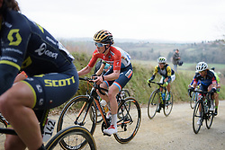 Christine Majerus (Boels Dolmans) at Strade Bianche - Elite Women. A 127 km road race on March 4th 2017, starting and finishing in Siena, Italy. (Photo by Sean Robinson/Velofocus)