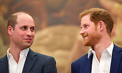 The Duke of Cambridge (left) and Prince Harry at the opening the Greenhouse Centre in London.