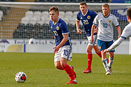 Scotland's Kai Kennedy (Rangers FC) during the U17 European Championships match between Scotland and Russia at Simple Digital Arena, Paisley, Scotland on 23 March 2019.