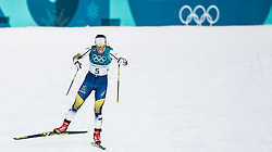 February 10, 2018 - Pyeongchang, South Korea - 180210 Charlotte Kalla of Sweden competes in Women's Skiathlon during day one of the 2018 Winter Olympics on February 10, 2018 in Pyeongchang..Photo: Petter Arvidson / BILDBYRN / kod PA / 87613 (Credit Image: © Petter Arvidson/Bildbyran via ZUMA Press)