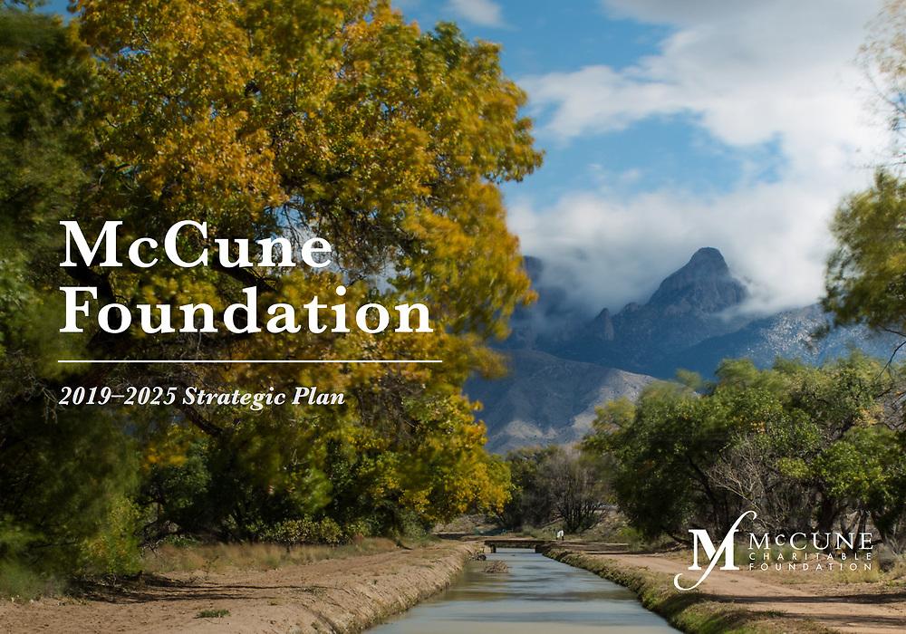 McCune Charitable Foundation Strategic Plan, cover McCune Charitable Foundation Strategic Plan