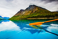 Twin Lakes in Lake Clark National Park in Alaska.