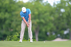 May 25, 2018 - Forth Worth, TX, U.S. - FORT WORTH, TX - MAY 25:  Bryson DeChambeau of the United States putts on #8 during the second round of the Fort Worth Invitational on May 25, 2018 at Colonial Country Club in Fort Worth, TX. (Photo by Andrew Dieb/Icon Sportswire) (Credit Image: © Andrew Dieb/Icon SMI via ZUMA Press)