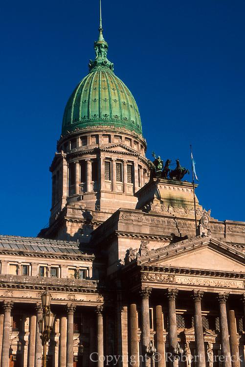 ARGENTINA, BUENOS AIRES Palacio del Congreso (Congress)