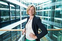 15 MAY 2013, BERLIN/GERMANY:<br /> Prof. Dr. Gesche Joost, Professorin an der Universitaet der Kuenste Berlin, Fachgebiet Designforschung, und Mitglied im Kompetenzteam von SPD Kanzlerkandidat P eer S teinbrueck,<br /> Willy-Brandt-Haus<br /> IMAGE: 20130515-01-056<br /> KEYWORDS: Wahlkampfteam