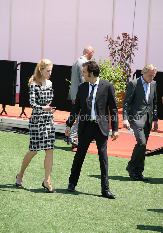 Actress Nicole Kidman and actor Clive Owen arriving at the Heminway & Gellhorn photocall at the 65th Cannes Film Festival France. Friday 25th May 2012 in Cannes Film Festival, France.