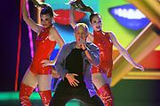 """Auftritt von Fabien Rohrer anlässlich der Lip-Sync-Battles bei der SRF-Pop-Schlager-Show """"Hello Again"""". Aufzeichnung vom 01. Oktober 2020 in den Fernsehstudios Zürich."""