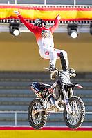Australian Fmx rider Rob Adelberg during qualifying Red Bull X-Fighters 2016 at Madrid. 22,06,2016. (ALTERPHOTOS/Rodrigo Jimenez)