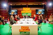 UTRECHT, 07-10-2020, TivoliVredenburg<br /> <br /> Koningin Maxima aanwezig bij de lancering van het Muziekopleidersakkoord, Meer Muziek in de Klas, in TivoliVredenburg te Utrecht. De Koningin zal buiten een Onthulling van projectie muzikale jeugdfoto's bijwonen.<br /> <br /> Queen Maxima present at the launch of the Music Educators Agreement, More Music in the Classroom, in TivoliVredenburg in Utrecht. The Queen will attend a Unveiling of projection musical youth photos.