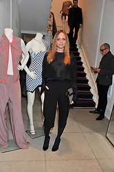 STELLA McCARTNEY at a party to celebrate the switching on of the Christmas Lights at the Stella McCartney store, Bruton Street, London on 29th November 2011.