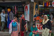 Garment district of Amritsar bazar, Punjab