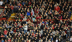 Bristol city fans  - Photo mandatory by-line: Joe Meredith/JMP - Mobile: 07966 386802 - 01/11/2014 - SPORT - Football - Bristol - Ashton Gate - Bristol City v Oldham Athletic - Sky Bet League One