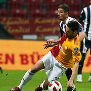 Galatasaray's Hakan BALTA (F) during their Turkish Super League soccer match Galatasaray between Kasimpasaspor at the TT Arena at Seyrantepe in Istanbul Turkey on Monday 09 May 2011. Photo by TURKPIX