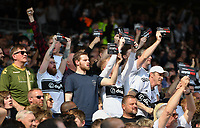 Football - 2018 / 2019 Premier League - Fulham vs. Manchester City<br /> <br /> 'Stop the Greed' protests during the game, at Craven Cottage.<br /> <br /> COLORSPORT/ASHLEY WESTERN