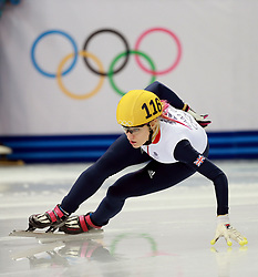 File photo dated 18-02-2014 of Great Britain's Elise Christie