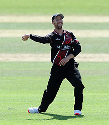 Somerset's Jack Leach - Photo mandatory by-line: Harry Trump/JMP - Mobile: 07966 386802 - 29/07/15 - SPORT - CRICKET - Somerset v Durham - Royal London One Day Cup - The County Ground, Taunton, England.