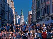 Rynek Główny w Krakowie, widok w stronę ulicy Grodzkiej, Polska<br /> Main Market Square in Cracow, view towards Grodzka Street, Poland