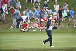 June 24, 2018 - Cromwell, CT, USA - Bubba Watson walks up the 17th fairway during the final round of the Travelers Championship at TPC River Highlands in Cromwell, Conn., on Sunday, June 24, 2018. (Credit Image: © John Woike/TNS via ZUMA Wire)
