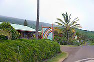 Maui, Hawaii. Kaupo, a tiny blip in the road featuring the Kaupo Store, a relic from the past