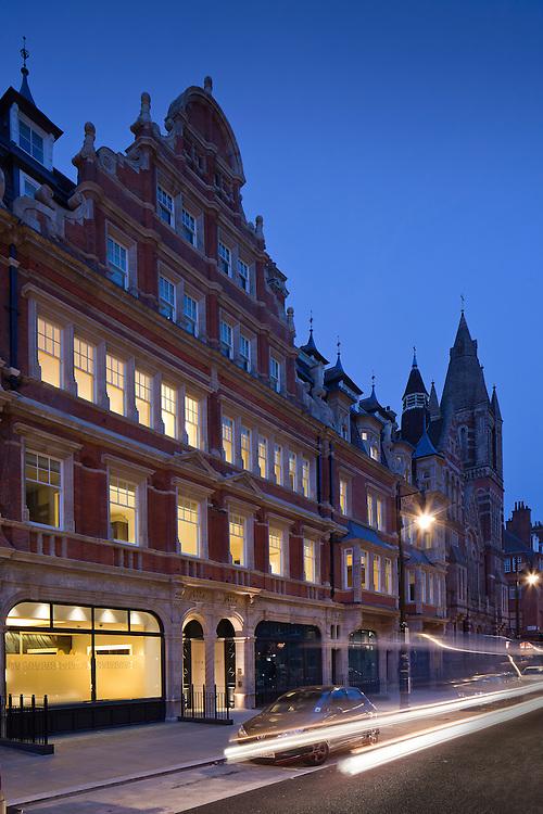 architecture. interior design. latitude architects. london. duke street. grosvenor estate