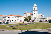 Santo Domingo cathedral and the former 15th century Santa Joana Jesus convent, Aveiro, Portugal