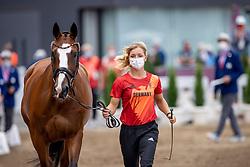 Krajewski Julia, GER, Amande de B Neville, 236<br /> Olympic Games Tokyo 2021<br /> © Hippo Foto - Dirk Caremans<br /> 29/07/2021