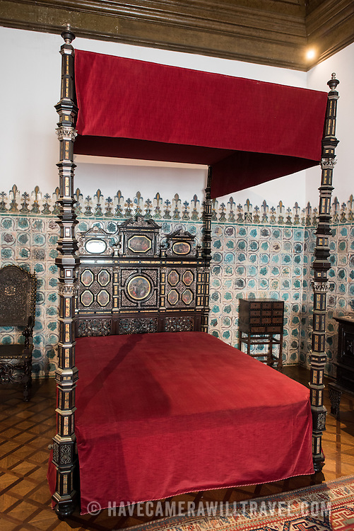 Bed Chamber Of King Sebastian At The Palace Of Sintra Sintra Portugal Have Camera Will Travel Photos