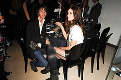 TARA FERRY and LILY RAGE at the launch party for 'Promise', a new capsule ring collection created by Cheryl Cole and de Grisogono held at Nobu, Park Lane, London on 29th September 2010.