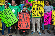 Protest for Solar Power at Entergy