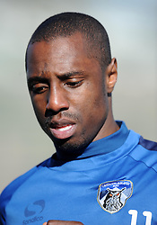 Oldham Athletic's Jonathan Forte  - Photo mandatory by-line: Harry Trump/JMP - Mobile: 07966 386802 - 07/03/15 - SPORT - Football - Sky Bet League One - Yeovil Town v Oldham Athletic - Huish Park, Yeovil, England.