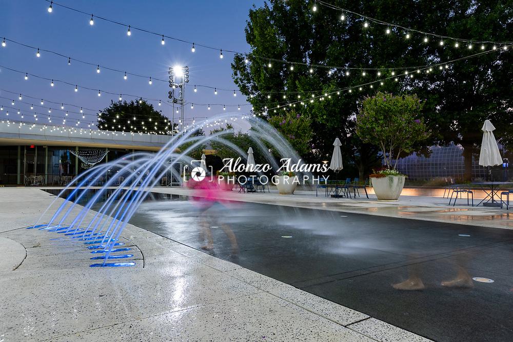 Myriad Gardens in downtown Oklahoma City. Photo by Alonzo J. Adams.
