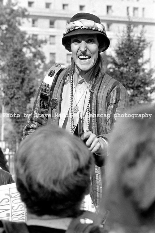 Preachers at Speakers Corner, Hyde Park, London - 1986