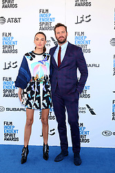 February 23, 2019 - Santa Monica, CA, USA - LOS ANGELES - FEB 23:  Elizabeth Chambers, Armie Hammer at the 2019 Film Independent Spirit Awards on the Beach on February 23, 2019 in Santa Monica, CA (Credit Image: © Kay Blake/ZUMA Wire)