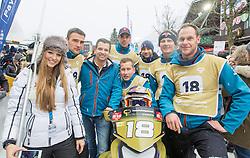 07.12.2014, Saalbach Hinterglemm, AUT, Snow Mobile, im Bild Team Pirkner Events // during the Snow Mobile Event at Saalbach Hinterglemm, Austria on 2014/12/07. EXPA Pictures © 2014, PhotoCredit: EXPA/ JFK