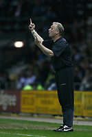 Photo: Steve Bond.<br />Derby County v Luton Town. Coca Cola Championship. 20/04/2007. Kevin Blackwell gives instructions