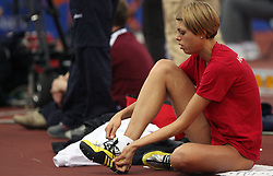 Blanka Vlasic of Croatia at the qualification at the 2nd day of  European Athletics Indoor Championships Torino 2009 (6th - 8th March), at Oval Lingotto Stadium,  Torino, Italy, on March 6, 2009. (Photo by Vid Ponikvar / Sportida)