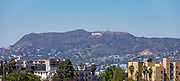 Famous LA Landmark of the Hollywood Sign in the Hills of Mount Lee
