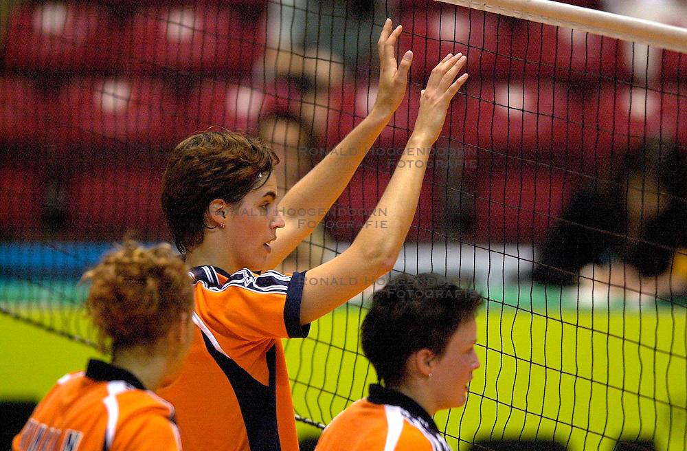 17-06-2000 JAP: OKT Volleybal 2000, Tokyo<br /> Nederland - Italie 2-3 / Francien Huurman