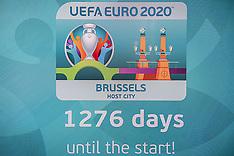 Belgium- Launch Of 2020 European Soccer Championships Logo - 14 Dec 2016