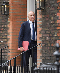 © Licensed to London News Pictures. 10/07/2019. London, UK. IAIN DUNCAN SMITH MP  is seen arriving at an address in Westminster, London used by Tory leadership candidate Boris Johnson. The frontrunner to be the next PM has been criticised for not backing the outgoing British Ambassador to the USA Sir Kim Darroch. Photo credit: Ben Cawthra/LNP