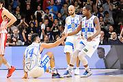 DESCRIZIONE : Campionato 2014/15 Serie A Beko Dinamo Banco di Sardegna Sassari - Giorgio Tesi Group Pistoia<br /> GIOCATORE : Brian Sacchetti<br /> CATEGORIA : Fair Play<br /> SQUADRA : Dinamo Banco di Sardegna Sassari<br /> EVENTO : LegaBasket Serie A Beko 2014/2015 <br /> GARA : Dinamo Banco di Sardegna Sassari - Giorgio Tesi Group Pistoia<br /> DATA : 01/02/2015 <br /> SPORT : Pallacanestro <br /> AUTORE : Agenzia Ciamillo-Castoria/C.Atzori <br /> Galleria : LegaBasket Serie A Beko 2014/2015