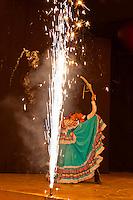 Viva Mexico cultural performance, Spectaculare Ballroom, Mazatlan, SInaloa, Mexico